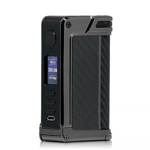 Lost Vape Paranormal DNA250C Gunmetal Black Grey Kevlar.jpg