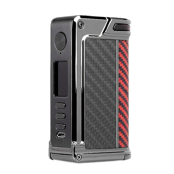 Lost Vape Paranormal DNA250C Gunmetal Red Black Kevlar.jpg