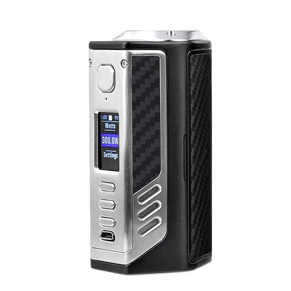 LOST VAPE TRIADE DNA250C 300W Silver+Black Grey Kevlar.jpg